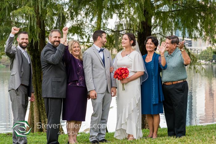 Lake Eola Orlando Courthouse Intimate Weddings