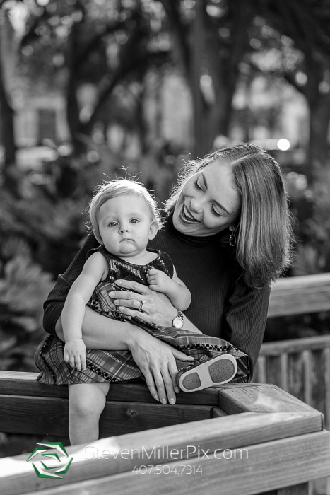 Family Mini Portrait Sessions Lake Eola