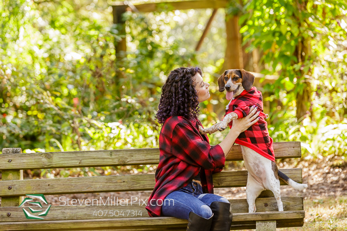 Family Session Photos with Fur Babies