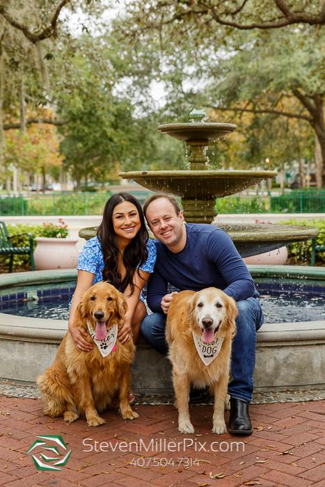 Celebration Engagement Photos Orlando