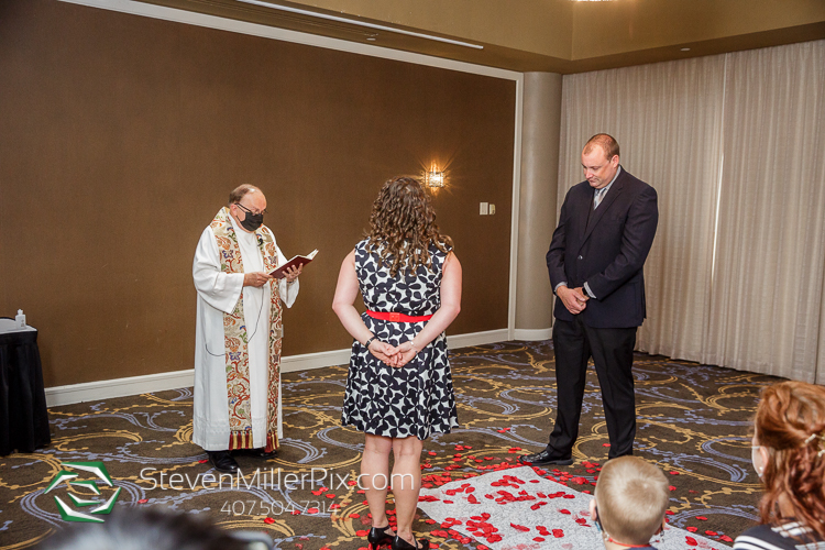 Doubletree Orlando Vow Renewal Photos