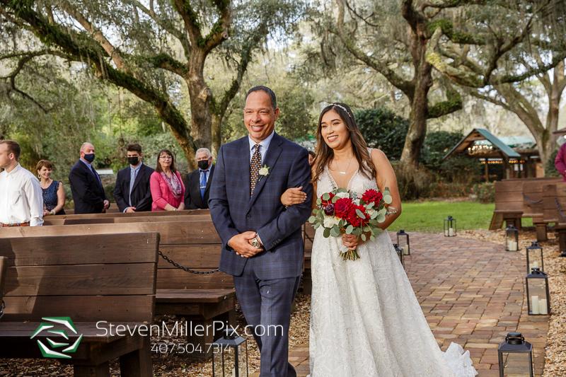 Wedding Ceremony Club Lake Plantation
