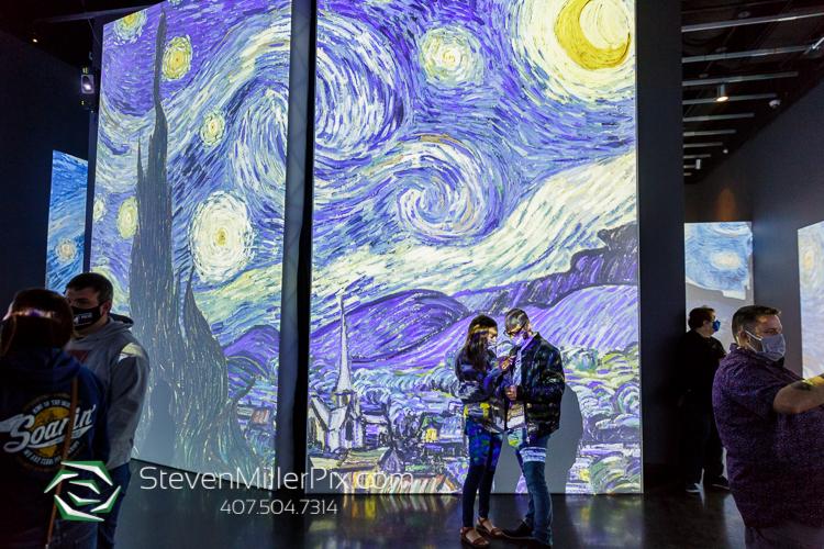 Van Gogh Salvador Dali Proposal Photographer