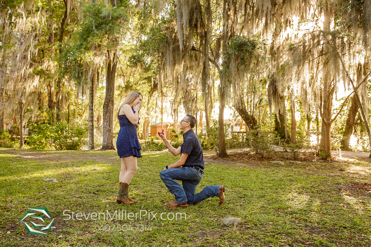 Orlando Surprise Proposal Photos