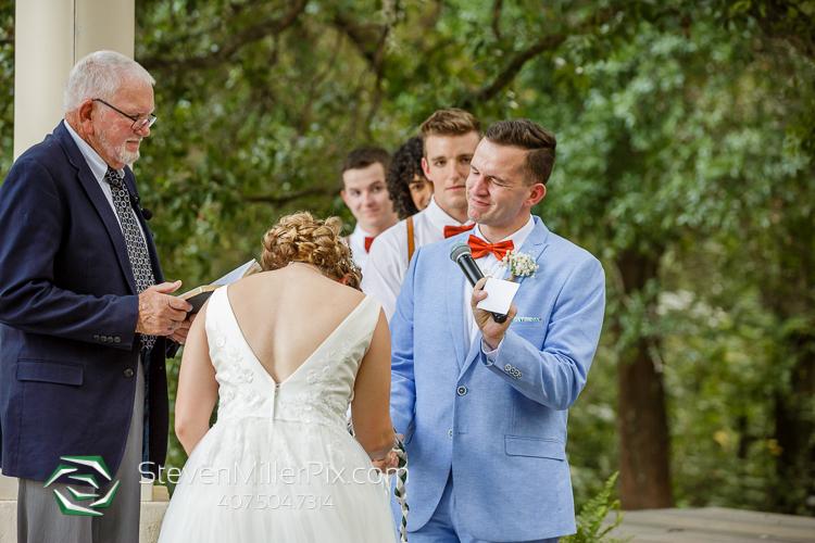 Orlando Wedding Ceremony Photos