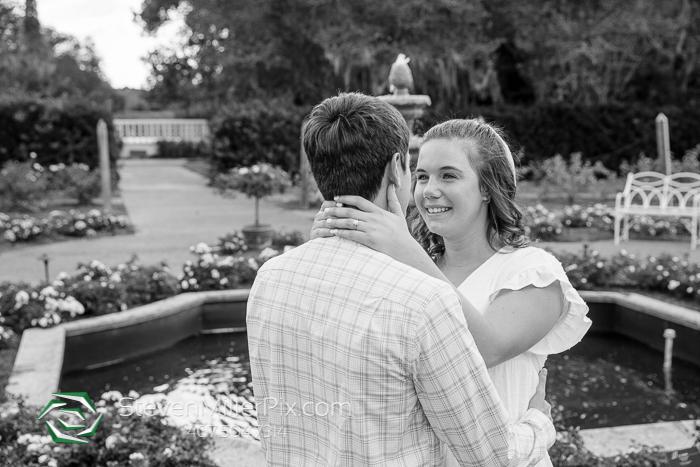 Proposal Photos at Leu Gardens Orlando