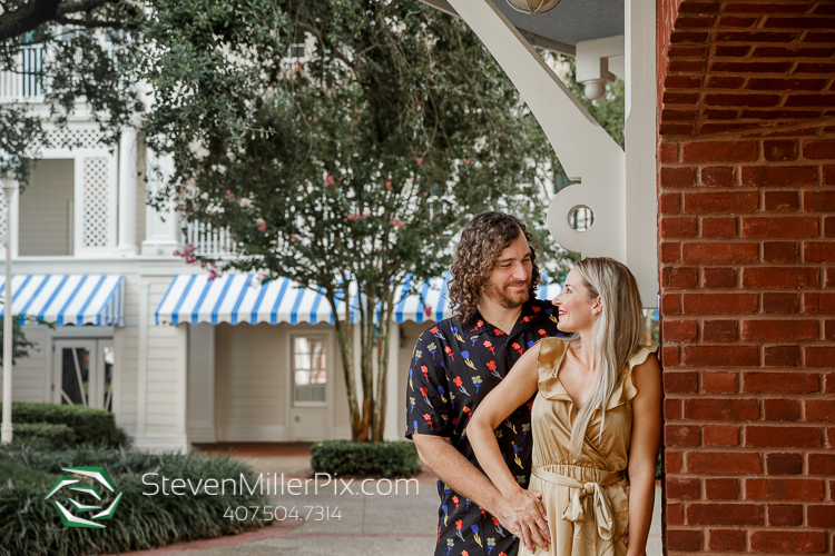 Engagement Photos Disney Boardwalk