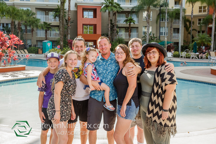 Family Photos Vacation Village Parkway