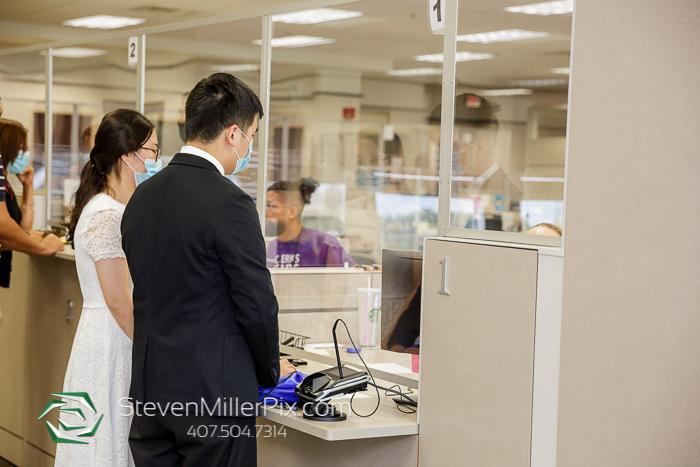 Intimate Courthouse Wedding Photos Orlando