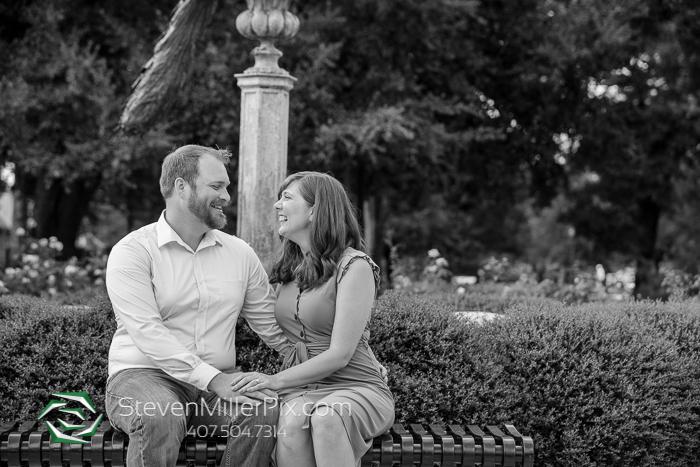 Engagement Photos Park Avenue Winter Park