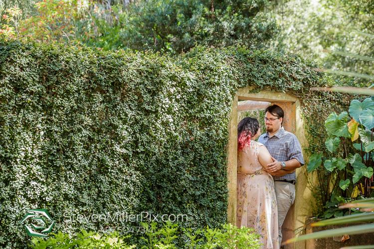 Engagement Photos Bok Tower Gardens