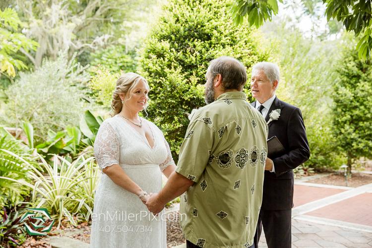 Small Weddings at Leu Gardens Orlando
